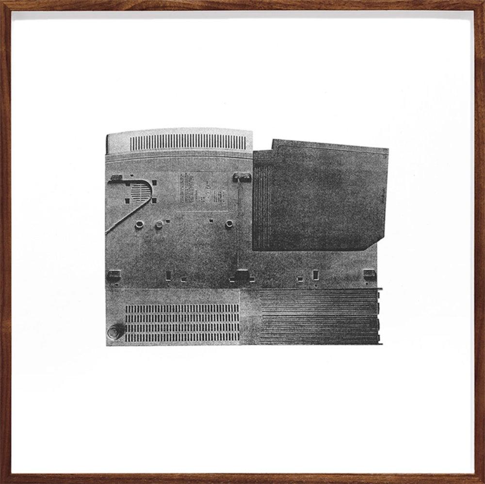 Untitled (Unit IV) , 1999-2015  Édition de 4 Photolithographie sur BFK Rives  37 x 37 cm