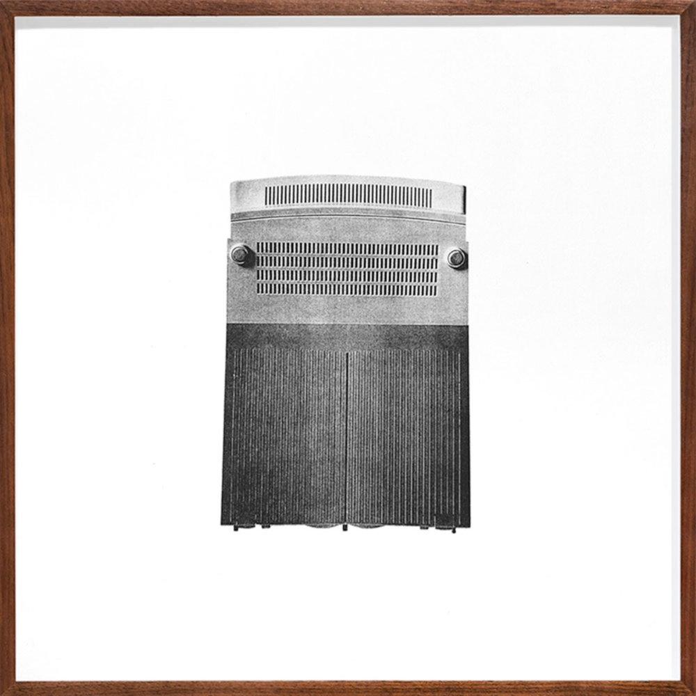 Untitled (Unit III) , 1999-2015  Édition de 4 Photolithographie sur BFK Rives  37 x 37 cm