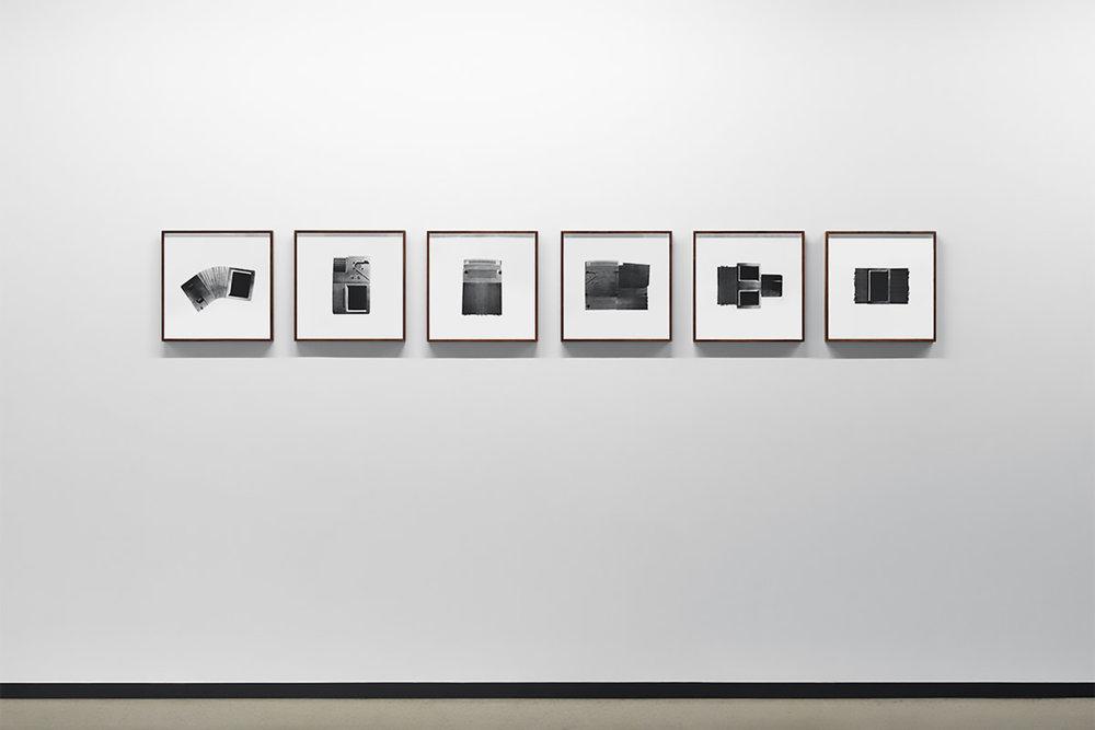 """Untitled (Unit I - VI) , 1999-2015  Édition de 4  Photolithographie sur BFK Rives 14 5/8"""" x 87 3/8""""."""