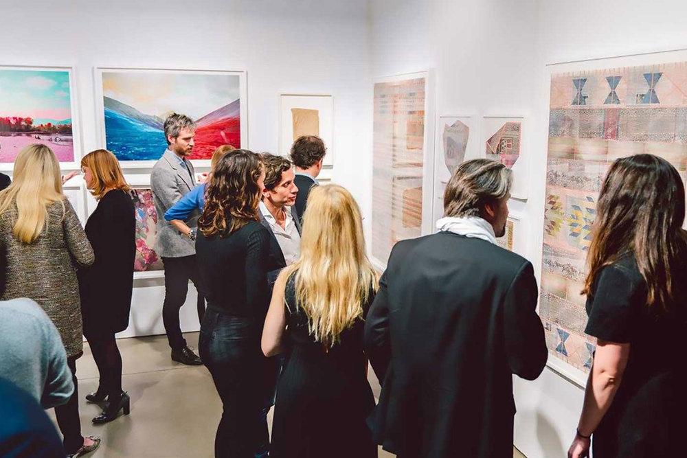 Vue d'installation, La Foire PAPIER 2018