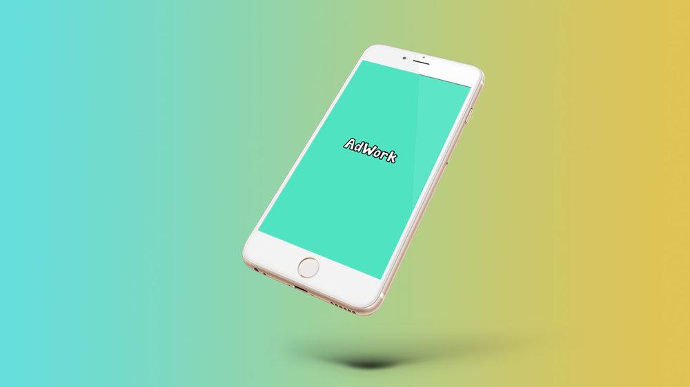 Finalized app concept mockup