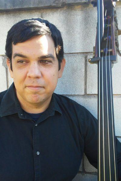 Guest artist Christopher Flores, string bass