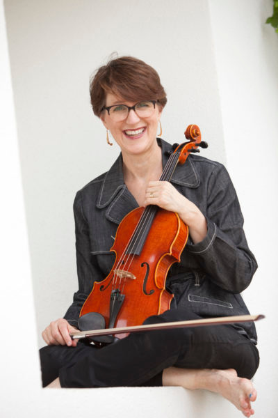 Guest artist Martha Carapetyan, viola