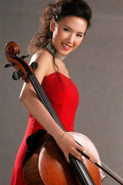 Guest artist Ying Zhang, cello