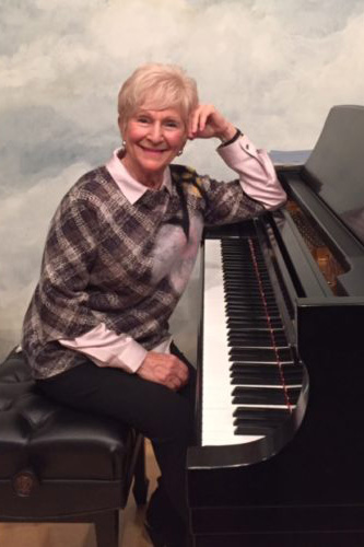 Guest artist Tony Blumenthal, piano