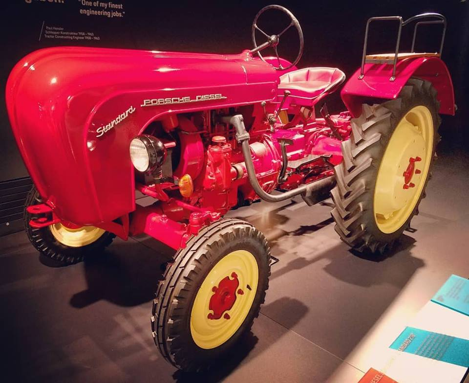 Porsche's tractor - 125,000 produced in total