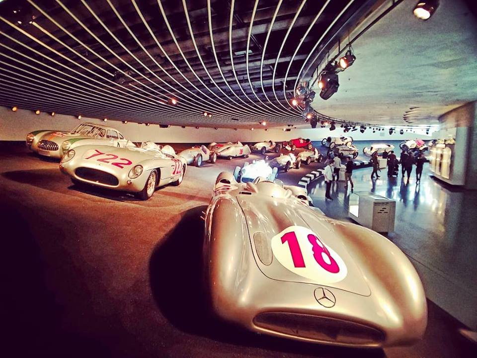 Legends made on the track - A view into the The 'Silver Arrows – Races & Records' display