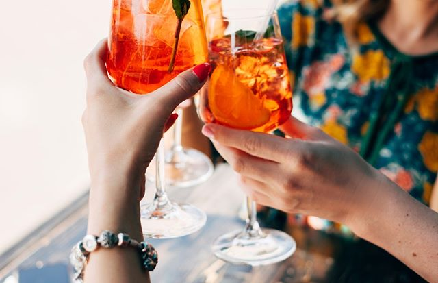 Spritz it up! Tonight all of our spritzers are $5 from 5 to 8pm-- try our hugo, backberry or aperol spritz.  #HappyHour #DowntownATX #AustinFoodMagazine #AustinFoodstagram #DrinkATX #EaterATX #ATXEats