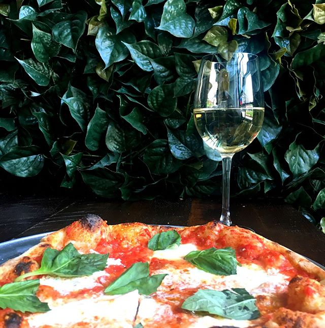Today is #NationalDrinkWineDay! Purchase a pizza, appetizer or entree today and get a glass of Dark Horse Pinot Grigio or Cabernet on us! #HappyHour #DowntownATX #EaterATX #KeepAustinEatin #AustinFoodMagazine #ATXEats