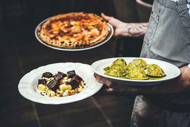 Hand-made pastas & Neapolitan pizza? The perfect shareable menu that you won't want to share!