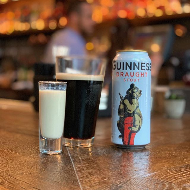 St Patrick's Day was meant to fall on a Sunday Funday-- let's celebrate!  Tullemore D.E.W. & a Brew (Thirsty Goat Amber) Jameson Caskmates Stout Irish Mule 'Sex bomb' – Guinness with a shot drop of Bailey's & Sexton Single Malt whiskey  #StpatricksDayATX #AustinDrinks #HappyHour #SundayFunday