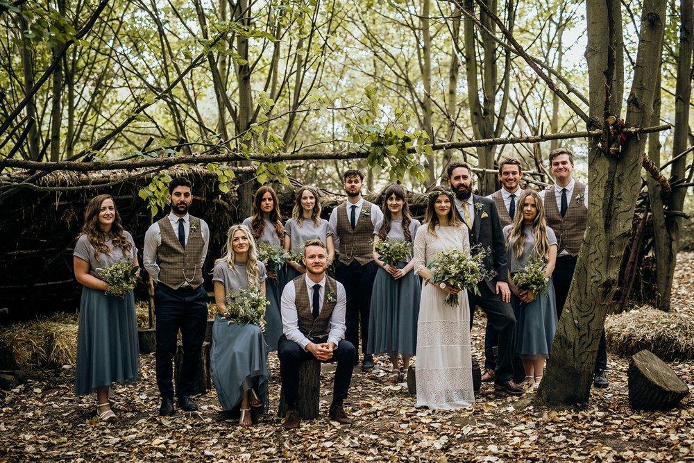 woodland tipi wedding bedfordshire