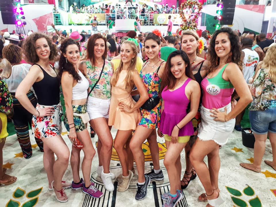 Samba School Dance Migration Rio