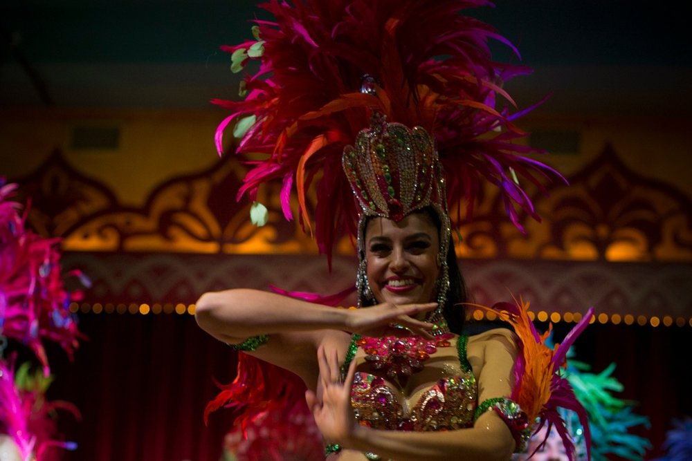 Patricia Estay    DANCER/INSTRUCTOR   Patricia began dancing at age 4, and has trained extensively in ballet, jazz and modern dance. She has also studied with Chile's national folkloric ballet, BAFONA. In 2012 Patricia graduated from Ryerson University in Toronto with a BFA in Dance. While at Ryerson, Patricia was introduced to Brazilian samba, and began dancing with Dance Migration. Patricia toured the Netherlands in Dance Migrations Terra Brasil. Just recently she performed works by Rosangela Silvestre and Irineu Nogueira this past spring 2015. Patricia also competes as a ballroom dancer in American Rhythm, representing Canada with her partner.
