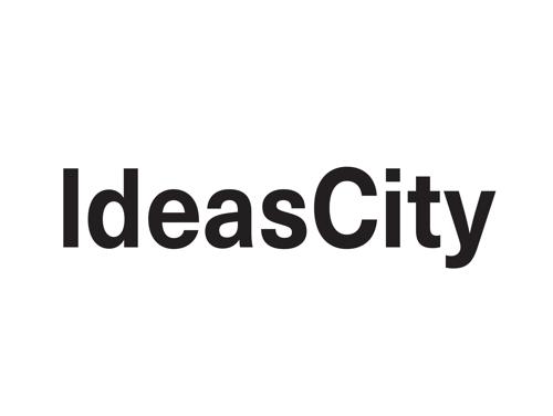 IdeasCity logo. Links to IdeasCity site.