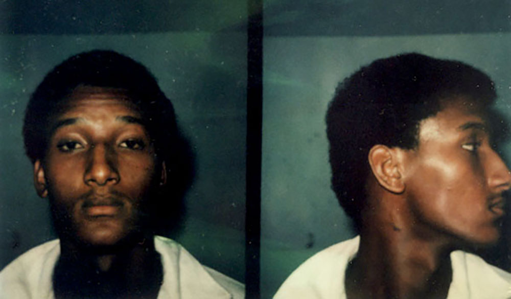 Both victims view a photo array including an old mug shot of Ronald Cotton. Jennifer selects Ronald's photo; the second victim can't make an identification.