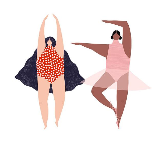 Dancing Queens 💃🏻💃🏾 . . . #art #artist #artwork #procreate #procreateapp #artistsoninstagram #illustration #illustrationartists #illustrator #ipadpro #ipadproart #illustragram #illustratorsoninstagram
