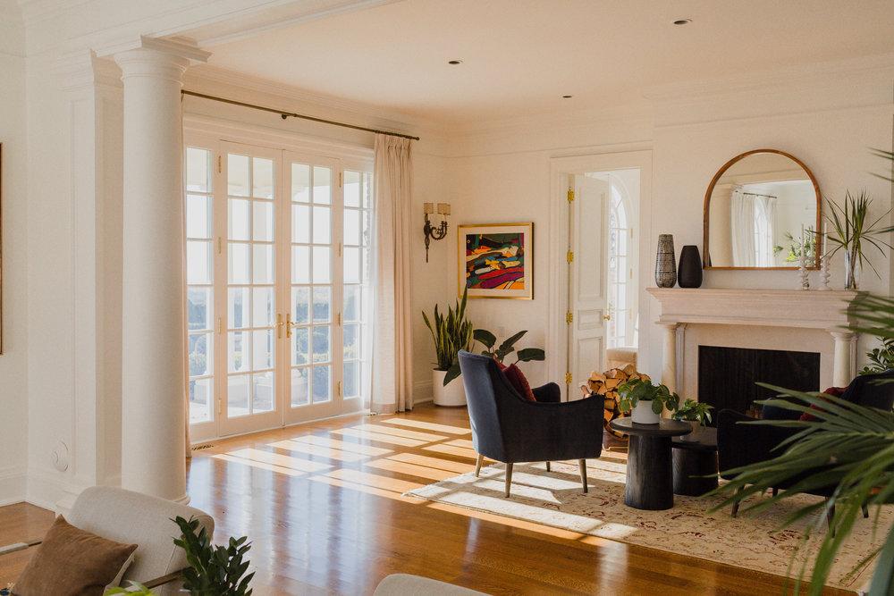 main floor -