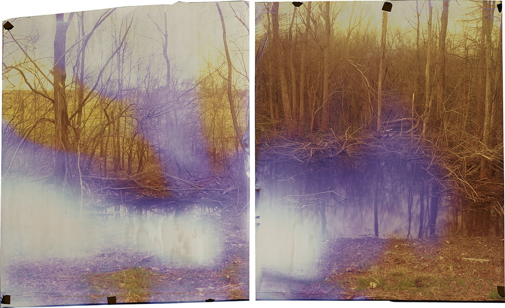 Camera Obscura Ilfochrome Photograph, Unique 34'' x 28''  COAHOMA COUNTY, MISSISSIPPI  2014