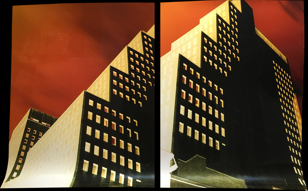 West 43rd Street and Fifth Avenue, Diptych