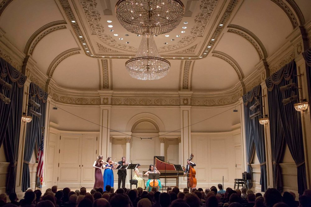 Ensemble Connect in Weill Hall at Carnegie Hall, NY