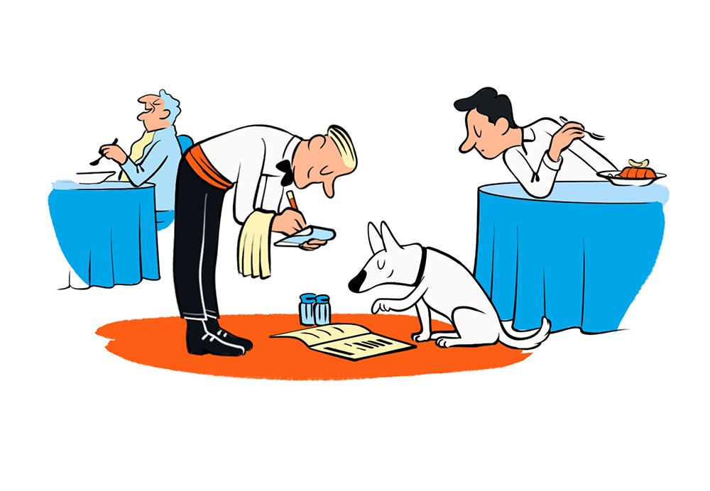 Loveblood - Motejus Vaura - take your dog to the restaurant.jpg