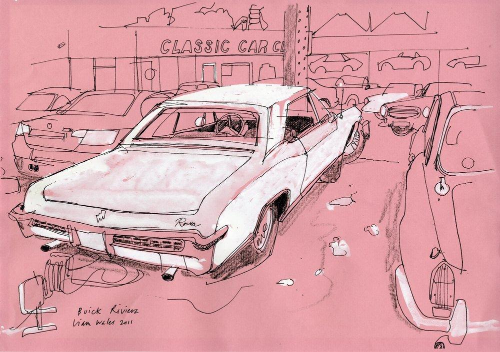 Loveblood - Liam Wales - pink buick002.jpg