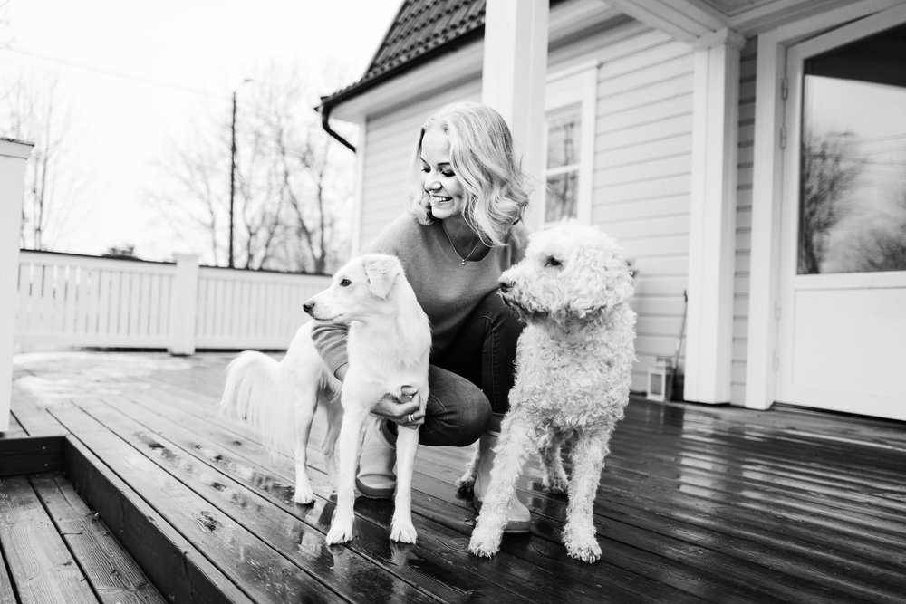 Katja Henkola - Crazy dog lady, nature lover & enthusiastic entrepreneur