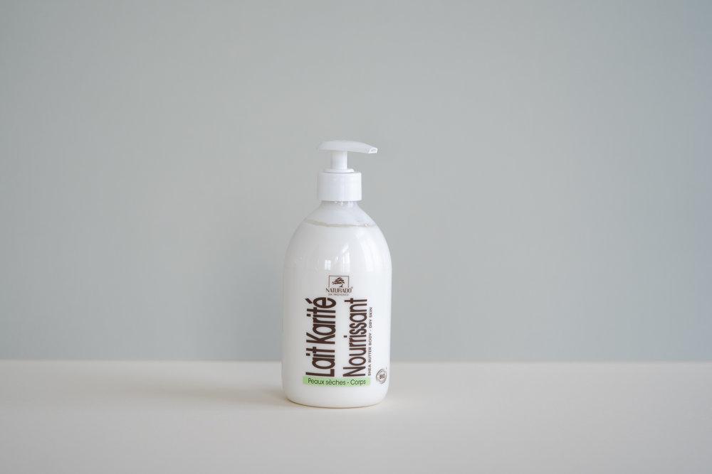 Kuivan ihon vartaloemulsio kätevässä pumppupullossa!