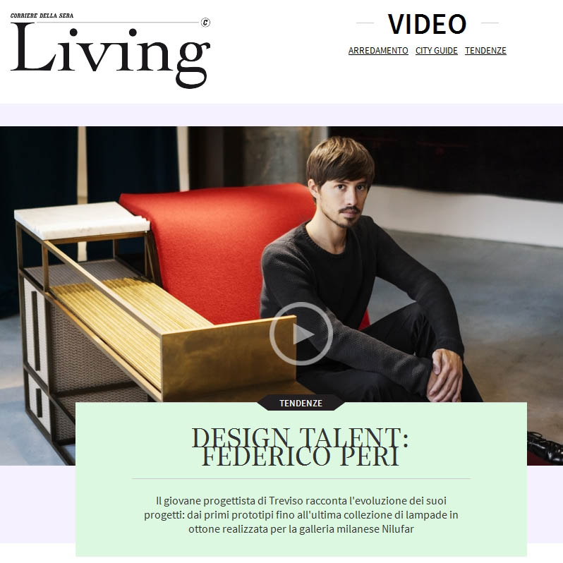 LIVING CORRIERE Video