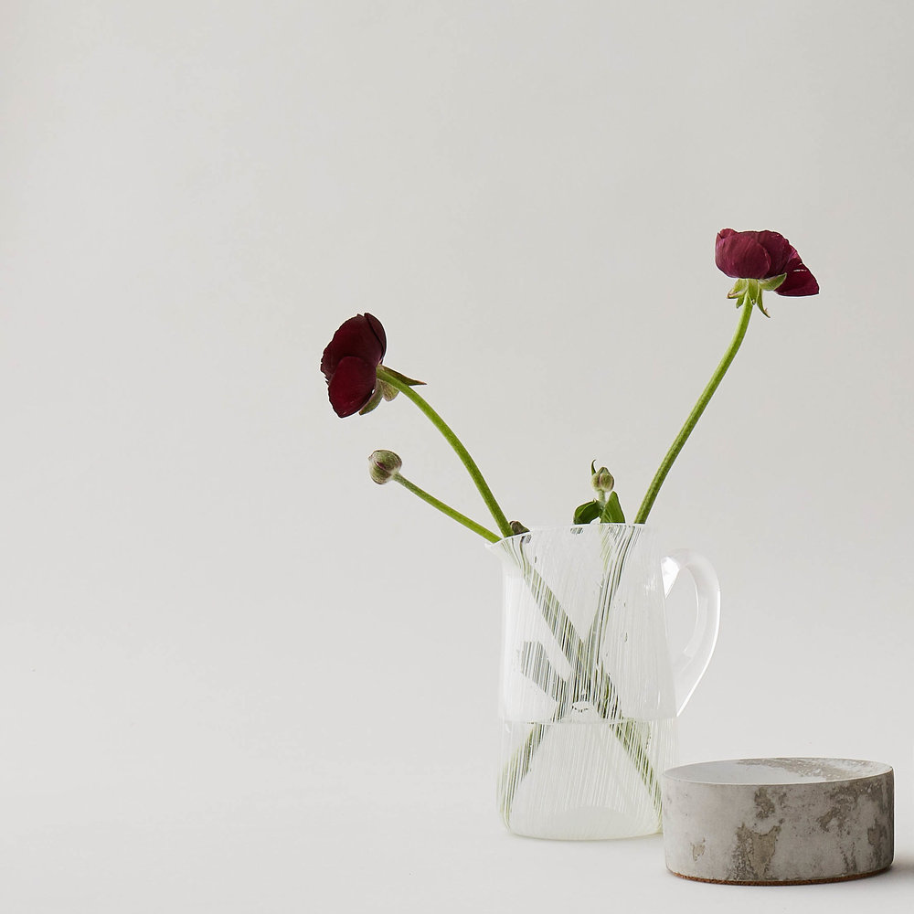 Handblown Glass Jug