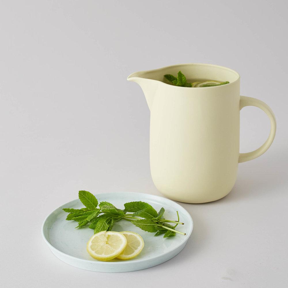 Cleanse: Water Jug in Sherbet Lemon Yellow