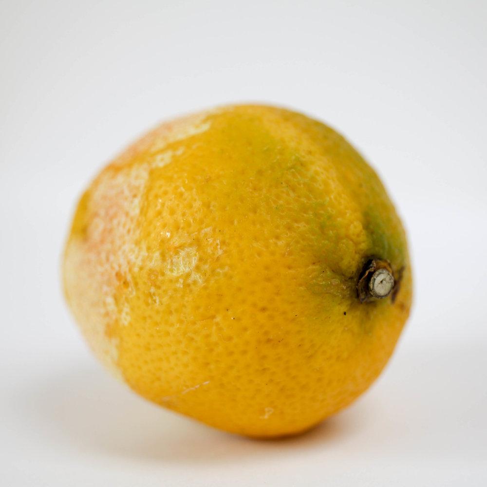 Waxing lyrical: on extra-ordinary lemons
