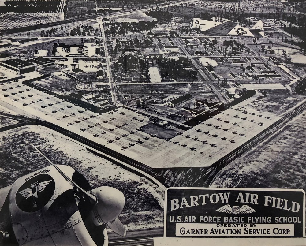 Aerial of Bartow Air Base
