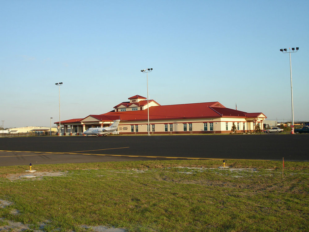 Air Side View of Terminal Building