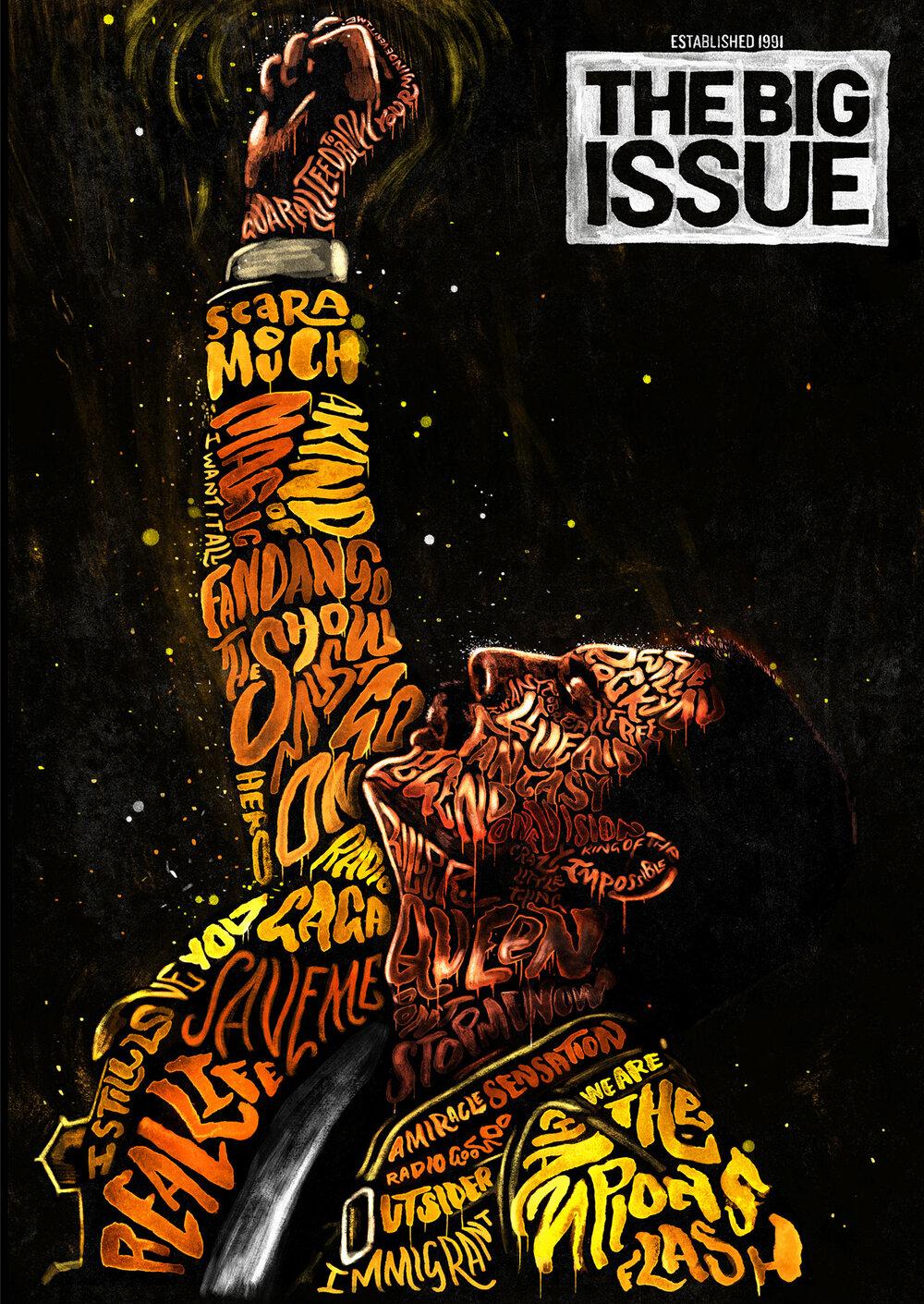 Freddie Mercury / The Big Issue