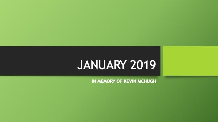 Gateway to Glory - January 2019