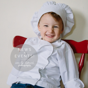 news and events for emily lapish photography