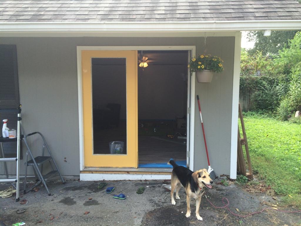 Replacing door inserts
