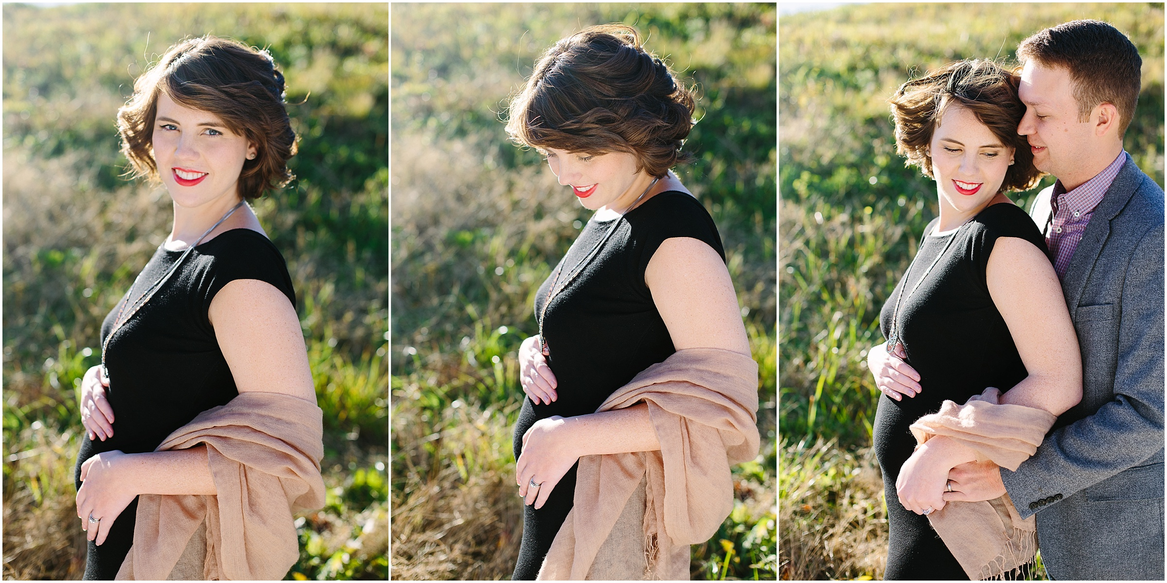 Outdoor maternity session by Emily Lapish Photography in Chattanooga, TN