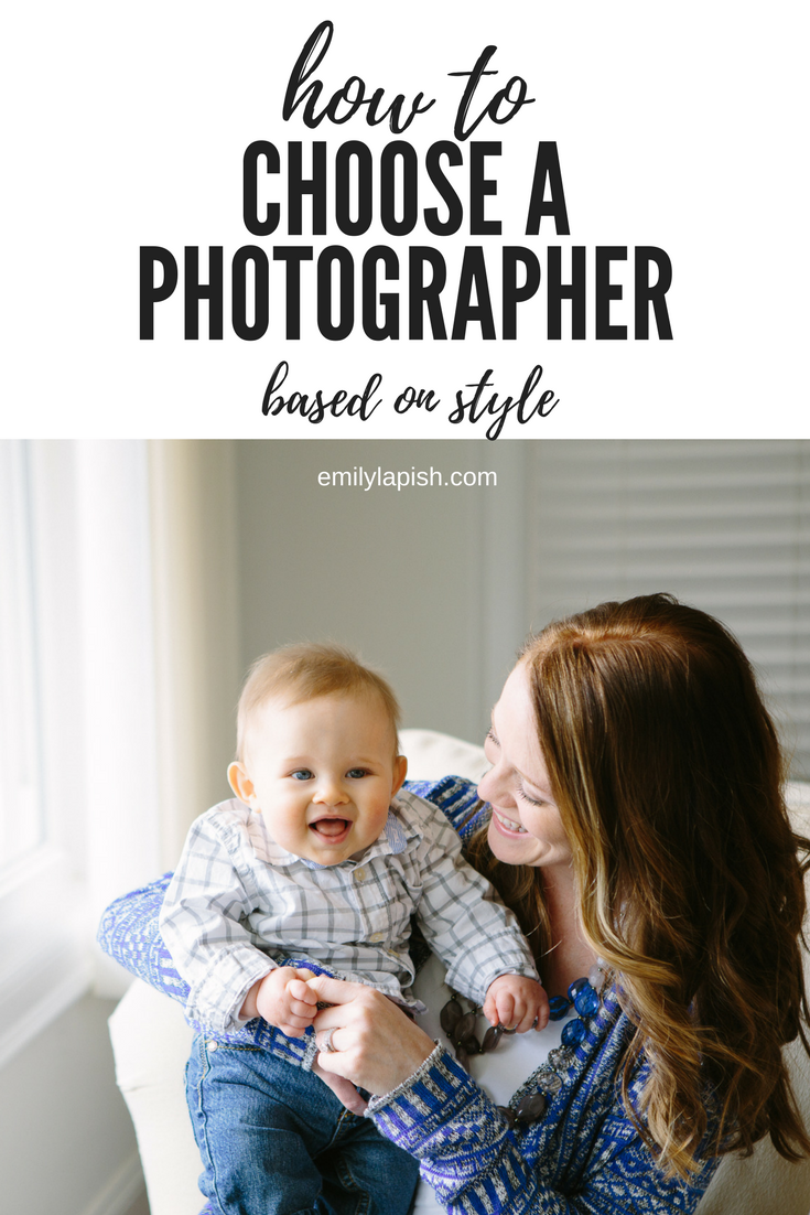 How to choose the right photographer for you, based on their style
