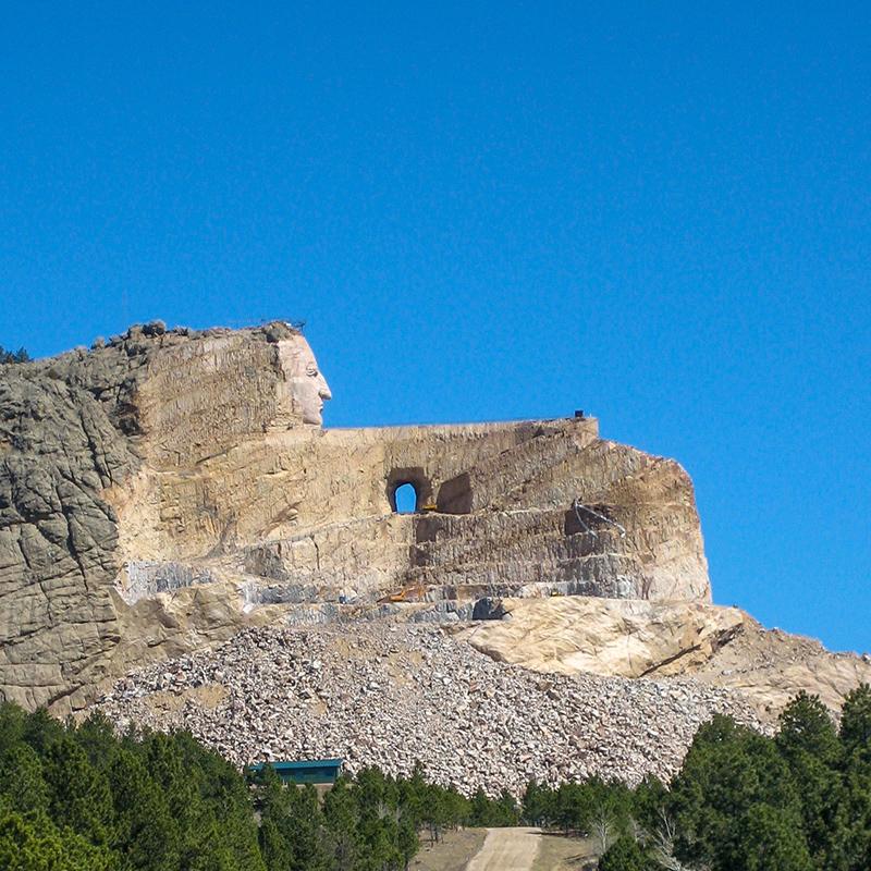 crazy-horse-memorial-willow-springs-cabins-black-hills-rapid-city-south-dakota