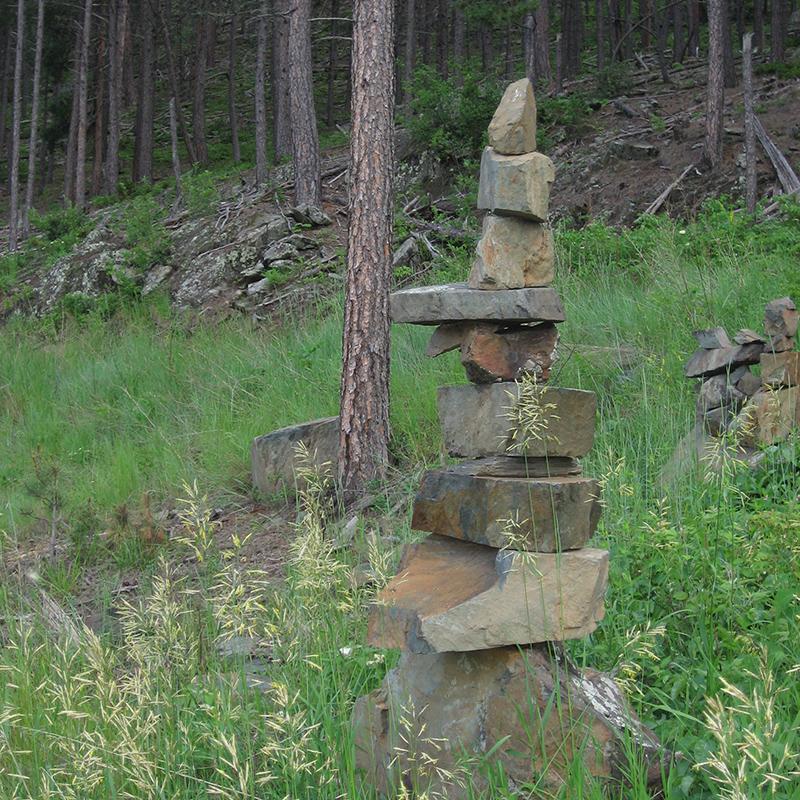 rock-stacking-willow-springs-cabins-black-hills-rapid-city-south-dakota