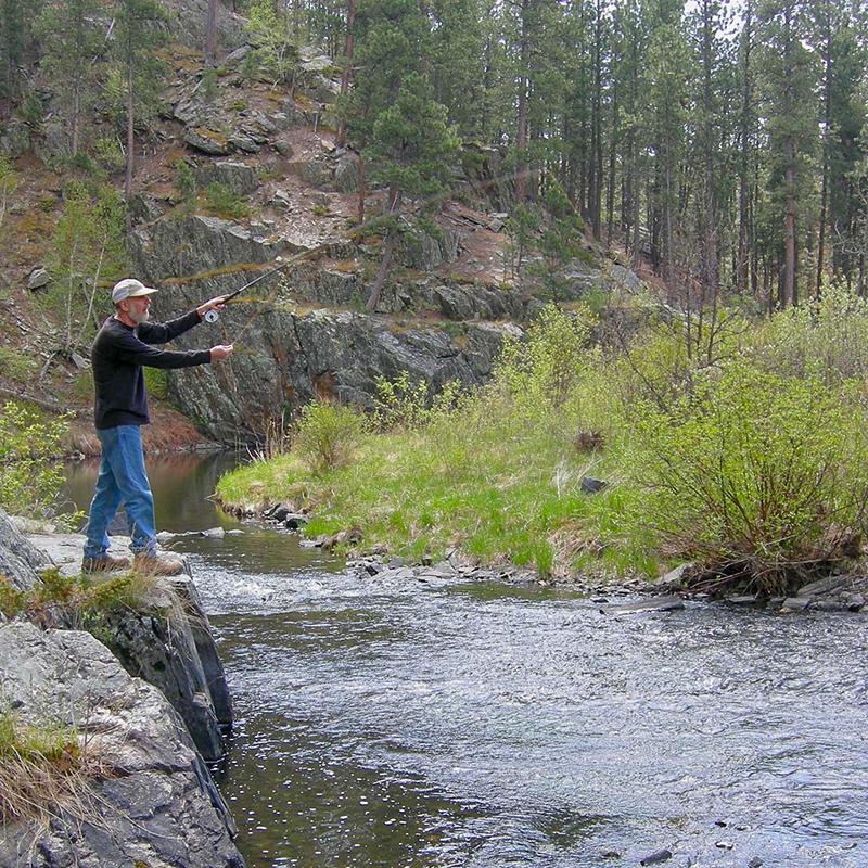 fishing-willow-springs-cabins-black-hills-rapid-city-south-dakota