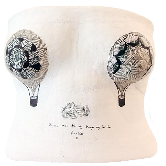 ARTIST: MARGAUX ARRAMON-TUCOO   CASTEE: COLINE MENARD