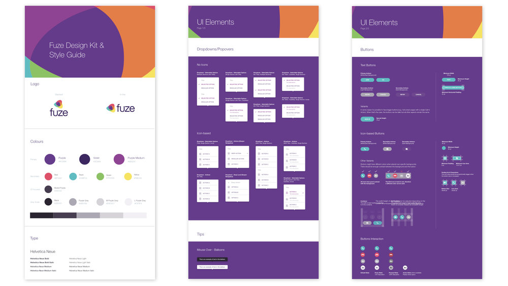 Fuze Design Kit and Style Guide