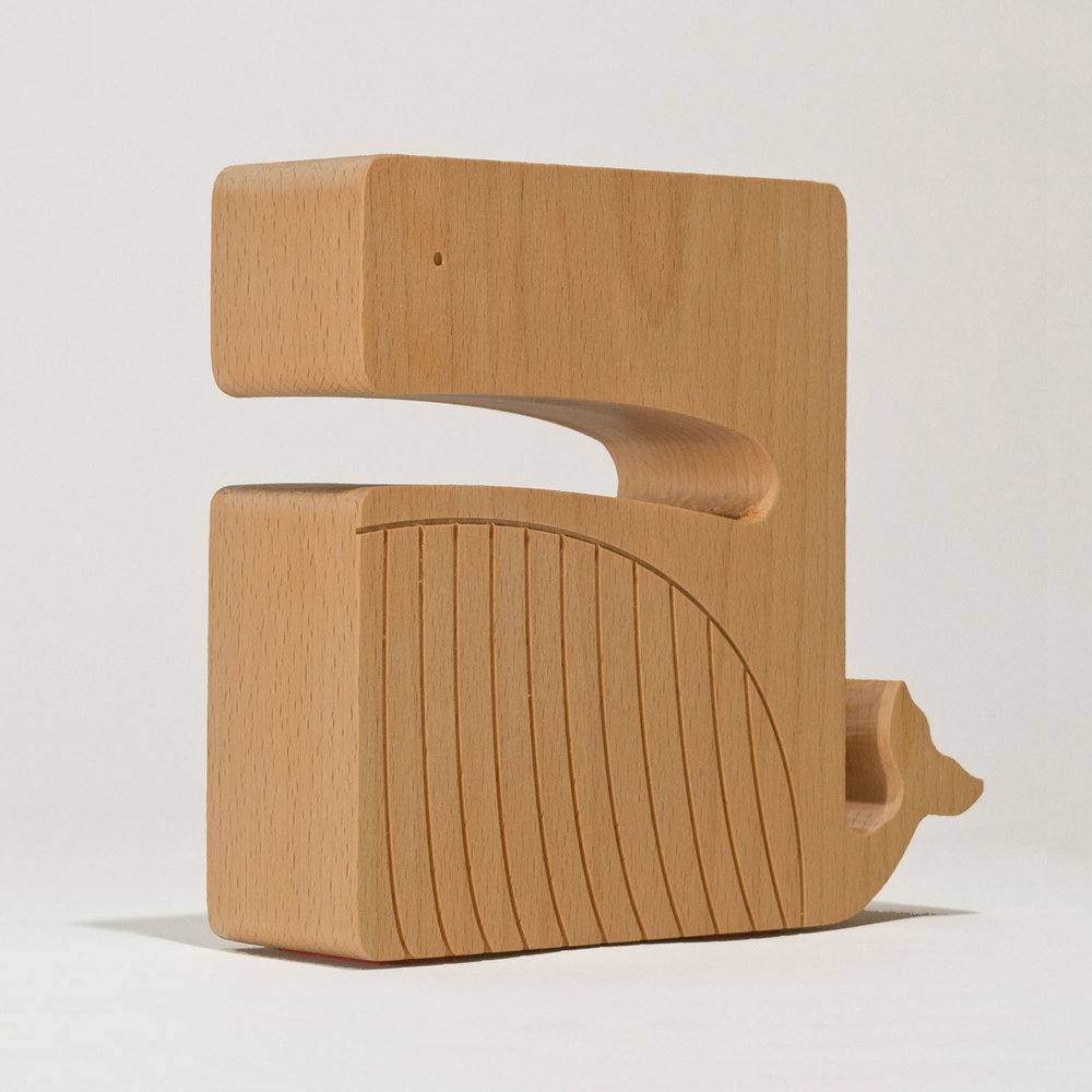 Bookend/ Whale