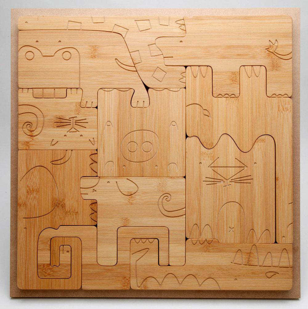 Square Puzzle/ Land