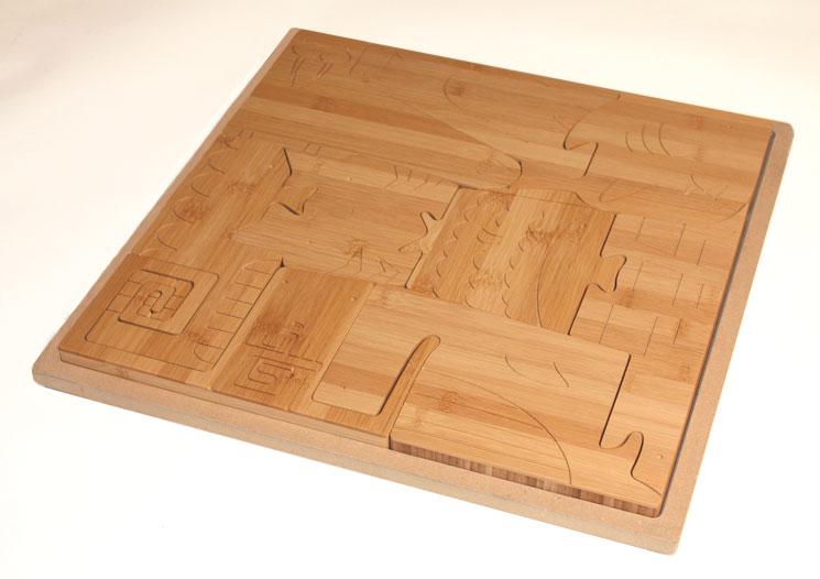 Square Puzzle/ Ocean