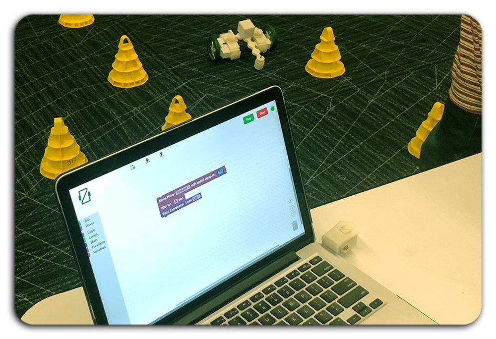 Computational Thinking - Learn to code using Ziro Code app.